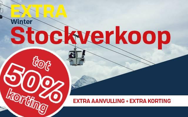 Extra STOCKVERKKOP in SKW van 20/03 tem 24/03