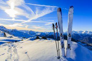 Sneeuwzeker skigebied herfst